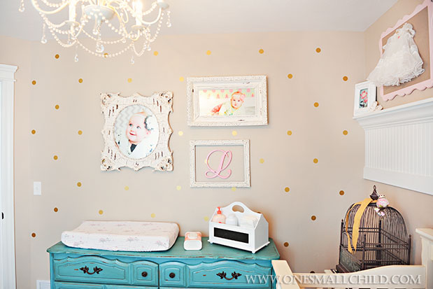 13 Lily S Turqoise Shabby Chic Nursery 5121 One Small Child