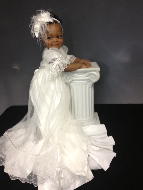 Natalia Christening Gown worn by Stacey